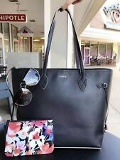 LODIS 100% genuine pebble grain leather Bliss Leather Tote With Wristlet *****