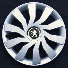 "Set of  4x14"" wheel trims to fit Peugeot 106,107,206,306,Partner"
