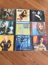 Country Music Gretchen Wilson Dixie Chicks Carrie Underwood Trisha Lot Of 9 Cd's