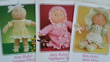 Lot Of 9 BITTY BABY CROCHET PATTERNS Annie's Pattern Club