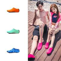 Men Women Aqua Skin Shoes Beach Water Socks Yoga Exercise Pool Swim. NEW