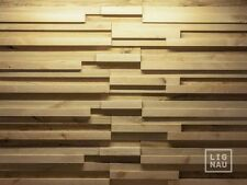 Wall Cladding Wood Paneling 3D Vintage Planed Oak Birch Alder Panel Nitau Solid