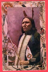 Chief GREEN SHIRT ~ Warwick Bros Patriotic No. 5003