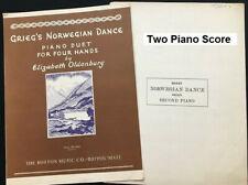 Duets Edvard Grieg's Norwegian Dance No. 2 - One Piano & Two Pianos Arrangements