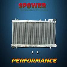 Aluminum Radiator For Subaru Forester SF Gen1 2.0L EJ20 Turbo 4Cyl Petrol 97-02