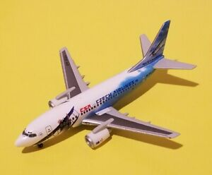 Herpa Models 1:400 CSA Czech Airlines 737-500 80th Anniversary OK-DGL