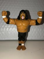 Hasbro WWF WWE Samu Headshrinkers Wrestling Action Figure Vtg Retro 1990s Toys