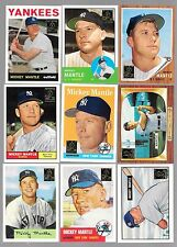 Lot of 15 1996 & 1997  Topps Mickey Mantle Commemorative Set