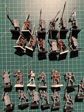 Warhammer Tomb Kings reyes funerarios Khemri 25 skeletons esqueletos used