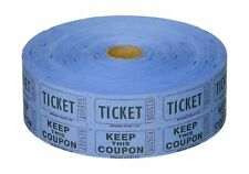 Blue Double Raffle Ticket Roll Other Office Supplies 2000