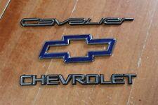 95-99 Chevy Chevrolet Cavalier Badge Trunk Emblem Chrome Plastic logo Rear Back