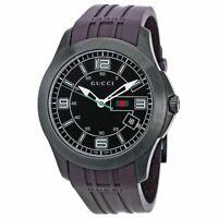 Gucci Gu-Ya 126203 Quartz Analog Watch Purple - NEW