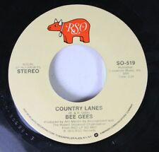 Rock 45 Bee Gees - Country Lanes / Fanny (Be Tender With My Love) On Rso