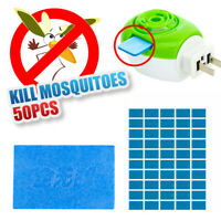 50Pcs/Set Mosquito Insect Repellent Tablets Replacement Plug in Adaptor Mats