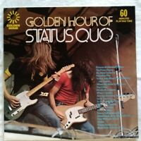 "STATUS QUO⚠️Unplayed⚠️1973 12""-LP-Golden hour of Status Quo-GH556-UK"