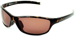 Kangol KS 6005-2 6115 Tort Havana Brown Men's Acetate Wrap Sunglasses