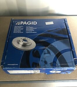 Pagid Rear Brake Discs To Fit Toyota IQ