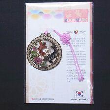 Korean Traditional Metal Bookmark Korea Red Black Carp FreeShipping