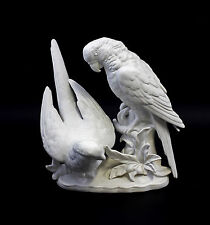 Porcelain Parrot Group Bisque Wagner & Apel 8 5/16X6 5/16X8 5/16in 9942607