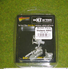 British PARAS Vickers HMG Team BOLT ACTION WARLORD GAMES 28 mm