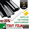 HD Car Home Window Tint Film Black Roll 25% VLT 760mm*7m Tinting Tools Kit AU