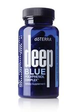 doTERRA Deep Blue Polyphenol Complex 60 Capsules CPTG New/Sealed Exp 05/2022