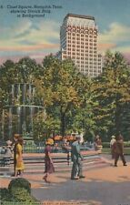 *(M)  Memphis, TN - Court Square and Sterick Building in Background
