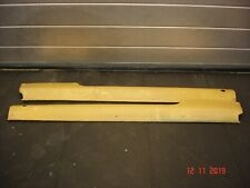Nissan Micra Rally Car Sill Guards made from Kelvar