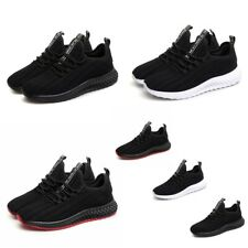 New listing Men's Sneakers Athletic Running Breathable Soft Lightweight Tennis Walking Shoes
