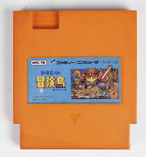 Nintendo NES Asian Cartridge - Adventure Island - Famicom Convert - Orange Case