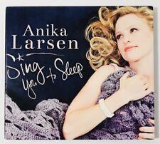 Sing You to Sleep [Digipak] by Anika Larsen (CD, Dec-2014, Yellow Sound)