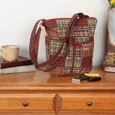 VHC Rustic Crossbody Gatlinburg Hipster Handbags Red Cotton Patchwork