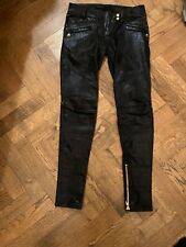 Balmain Leather Skinny Leather Pants Brand New Without Tags Size 40 French
