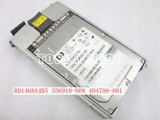 HP BD1468A4B5 356910-008 404708-001 BD14687B52 146G 10K U320 80pin SCSI 8MB #xh