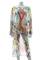 Etro Silk Printed Kaftan Dress / Multi