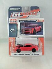 Greenlight GL Muscle 2012 Chevrolet Camaro 1LE Concept Victory Red NEW 1:64 2012