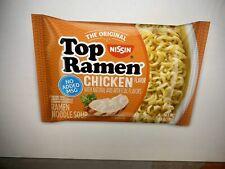 Nissin Top Ramen Noodle Soup Chicken  Flavor  24  3 oz ea Packages