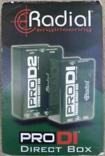 Radial Pro D2 Stereo Direct Box for Keyboards Studio / Stage Prod2 R8001102