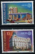 Yugoslavia 1990 SG#2616-7 Europa Post Office Buildings MNH Set #D55708