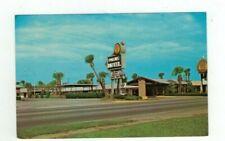 "GA Brunswick Georgia vintage post card ""Quality Inn Palms Motel"""