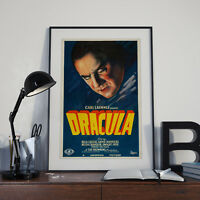 Dracula movie poster canvas print Bela Lugosi 16 x 24