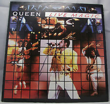 "QUEEN : LIVE MAGIC Album Vinyl LP 12"" 33rpm Gatefold Excellent+"