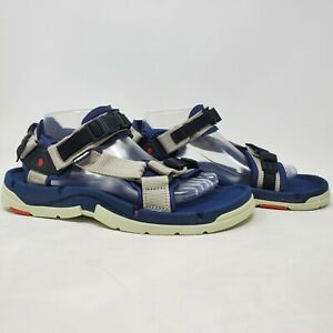 """TEVA Rare Hiking Sandals Men's Size 9 Style """"F3005C"""" 6679 Gray Blue"""