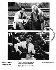 Lot of 3, Sean Penn, Samantha Morton, Uma Thurman stills SWEET AND LOWDOWN (1999