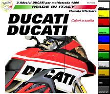 """Adesivi colorati per fiancate Moto Ducati Multistrada 950/ 1200/ 1260  """"V523"""""""