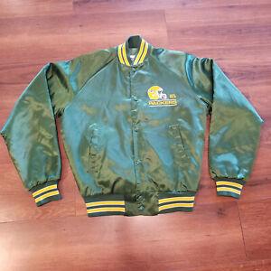 Chalk Line Green Bay Packers NFL Satin Jacket Youth XL 18/20 Vintage Fan Gear