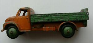 Dinky Meccano Die Cast Model Vehicle Orange Green Dodge Tipper Truck (Ref D108)