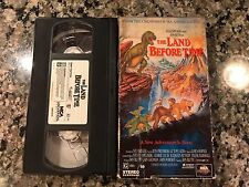 The Land Before Time VHS! 1998 Fantasy! The Good Dinosaur Dino Time