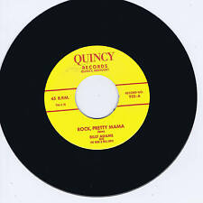 BILLY ADAMS - ROCK PRETTY MAMA / YOU GOTTA HAVE A DUCKTAIL - ROCKABILLY REPRO