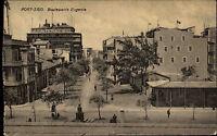 Port Said Ägypten Egypt AK 1927 Boulewards Eugenie Straße Eastern Exchange Hotel
